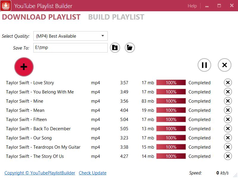 YouTubePlaylistBuilder - YouTube Playlist Builder, YouTube ...
